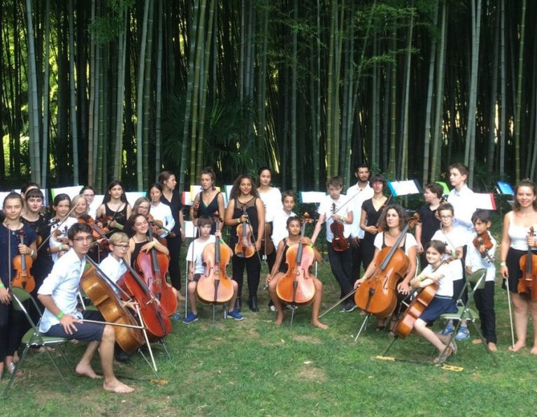 String Orchestra for young musicians from the Paris Music Academy