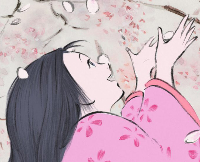 "Projection du film d'animation japonais ""Le Conte de la princesse Kaguya"""