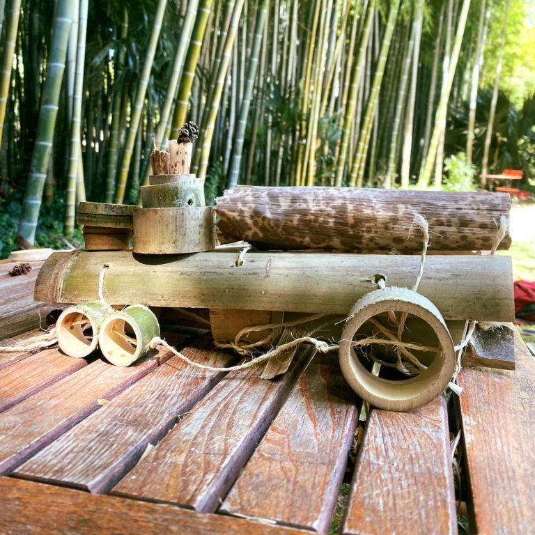 ATELIER MOBILE EN BAMBOU